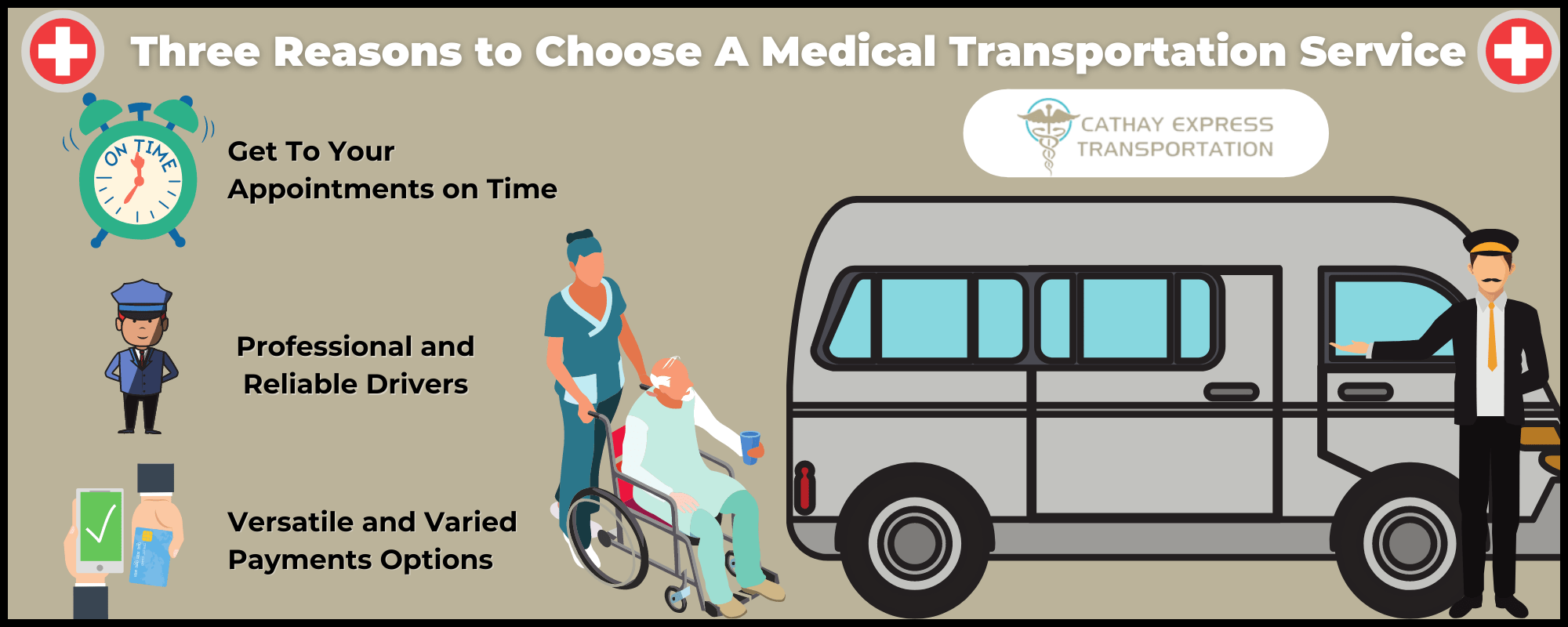Infographic explaining why dialysis patients should consider medical transportation services